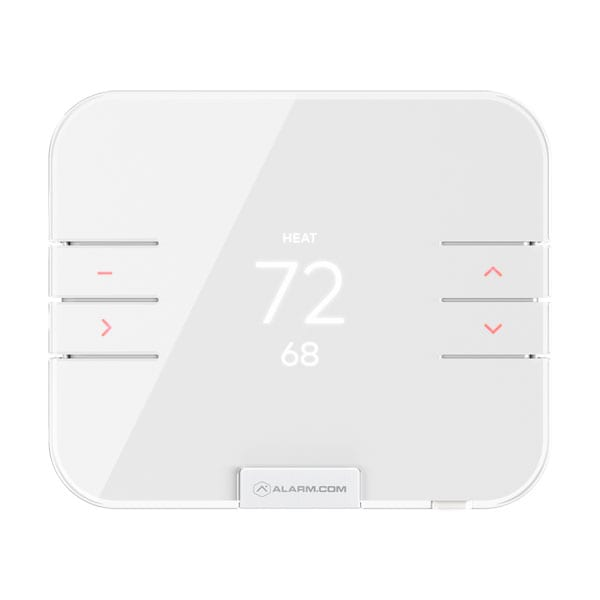 Alarm System with Thermostat Controls and Heat Mode