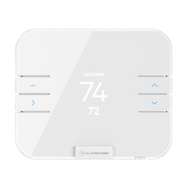 Alarm System with thermostat controls