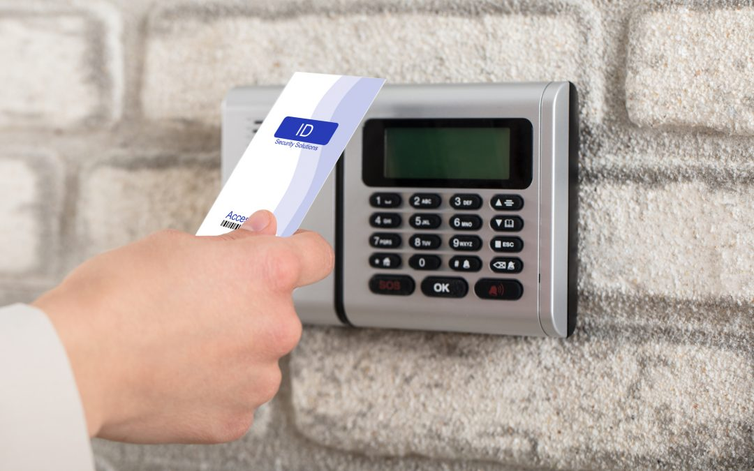 Commercial Access Control System To Lock And Unlock Door